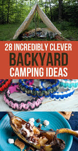 Summer Backyard Ideas 28 Genius Backyard Cing Ideas You Need To Try This Summer