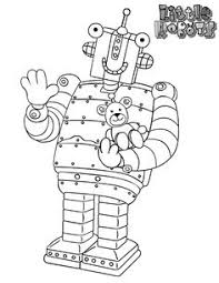 robots ear lights robots coloring pages robot