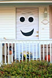 Halloween Cheap Decorating Ideas Decoration Attractive Halloween Door Decorating Ideas