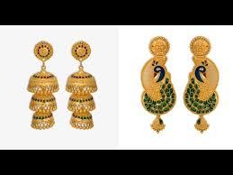 trendy gold earrings trendy gold earrings designs