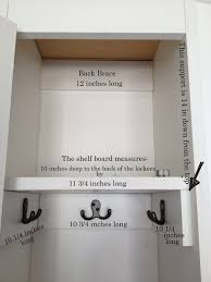 Pottery Barn Shelf Chalkboard Blue More Dimensions Of Our Pottery Barn Lockers