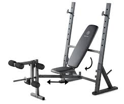 Workout Bench Plans Amazon Com Gold U0027s Gym Xr 10 1 Weight Bench Sports U0026 Outdoors