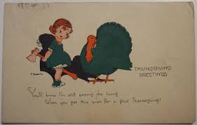 vintage thanksgiving postcards happy thanksgiving from the grand nudge