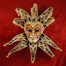 venetian jester mask bluemoon venice joker velluto uomo black
