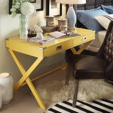 inspire q kenton x base wood accent campaign writing desk by com