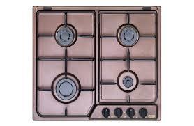 piano cottura rame rof 46 asv de longhi cookers