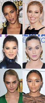 pictures of hairstyles for oblong face shapes how to figure out your face shape in 4 steps beautyeditor