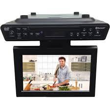 Sony Kitchen Radio Under Cabinet Sylvania Skcr2706bt 10 1