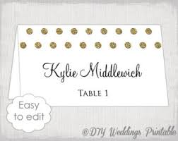 wedding place card template wedding place cards editable