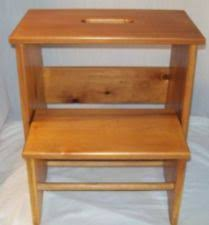 Library Step Stool Chair Combo Step Ladder Chair Ebay