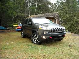 trailhawk jeep green on the road review jeep cherokee trailhawk the ellsworth