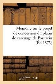 chambre de commerce de brest livre mémoire sur le projet de concession du platin de carénage de