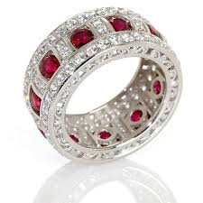 ruby bands rings images 232 best from here to eternity images rings jpg