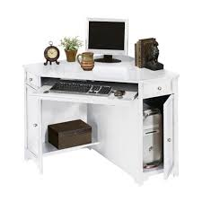 Corner Computer Desk Home Decorators Collection Oxford White 50 In W Corner Computer