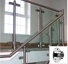 Stainless Steel Banister Stainless Wall Flanges For Handrail Dongying Zhengda Metal Product
