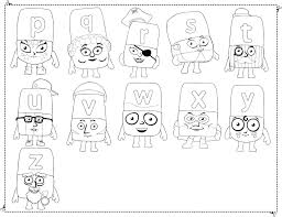alphablocks coloring pages creativemove