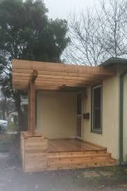 seattle front porch pergola exterior traditional with trellis