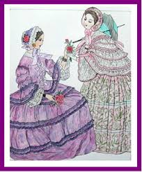 godeys book godey s fashions coloring book