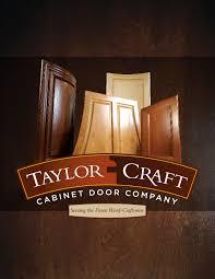 Cabinet Door Company New Cabinet Door Catalog By Taylorcraft Cabinet Door Co