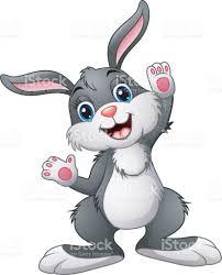 happy rabbit cartoon stock vector art 665715522 istock