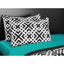 Bedding Mainstays Interlocking Geo Bed In A Bag Bedding Set Walmart Com