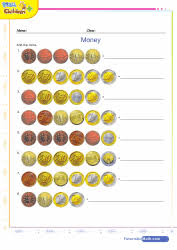 math money games quizzes and worksheets for kids