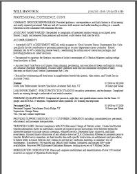 Military Resume For Civilian Job by Military To Federal Resume Sample Certified Resume Writer Expert