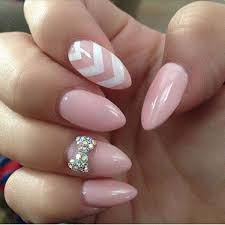 Baby Nail Art Design 50 Lovely Pink And White Nail Art Designs