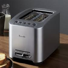 Kitchenaid Pro Line 2 Slice Toaster Breville Smarttoaster 2 Slice Toaster Crate And Barrel