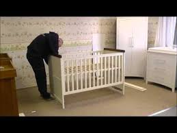 Silver Cross Nostalgia Sleigh Cot Bed Silver Cross Porterhouse Cot Bed How To Build In Under 2 Minutes