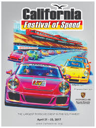 porsche racing poster california festival of speed time trial u0026 club raceporsche club of