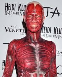 Anatomy Halloween Costumes Celebrity Halloween Costumes Heidi Klum Bares Sofia Vergara