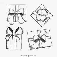 present box sketch drawings free vector drawing u0026 sketching