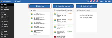 how to post a job u2013 handshake help center