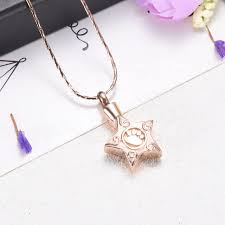 urn necklace for ashes cmj9717 fashion charm pet memorial urn necklace for ashes