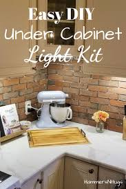 how to add lights kitchen cabinets how to add lighting kitchen cabinets in 20 minutes