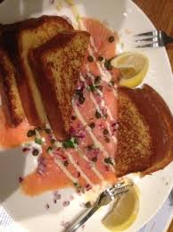 cuisine le gal smoked salmon with toast hmm picture of sea
