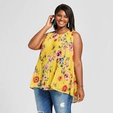 blouses for plus size plus size tops target
