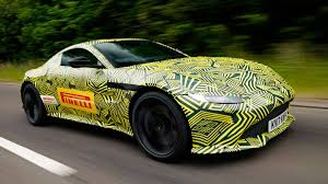 aston martin racing 2018 aston martin vantage shown in spy photos