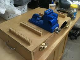 kreg jig storage by jdoerr lumberjocks com woodworking community