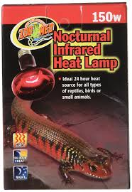 amazon com zoo med nocturnal infrared incandescent heat lamp 75