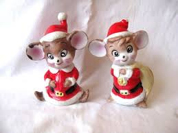 50 best xmas mice images on pinterest mice figurines and cute mouse