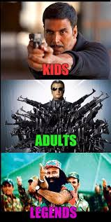 Legend Memes - we tried making kids adults legends memes with salman aamir shah