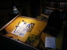 Table Top Drafting Board Drafting Away In Style Morgan Jade Ironworks