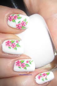 plumeria flowers nail art decals overallbeauty com