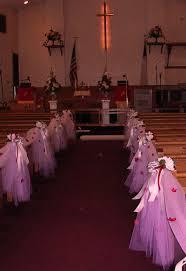 and wedding church decorations elegant church