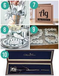 25th anniversary ideas anniversary gifts by year