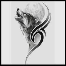wolf howling at the moon yahoo image search results tats