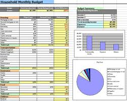 Excel Home Budget Template Sle Household Budgets Thebridgesummit Co