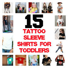 15 tattoo sleeve shirts for the rad toddlers babble